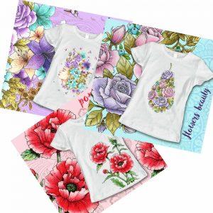 тениски цветя