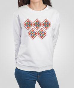 дамска блуза с щампа шевица 8
