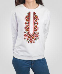 дамска блуза с щампа шевица лазарки пазва 2