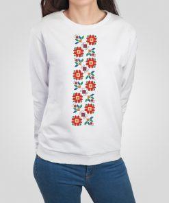 дамска блуза с щампа шевица 9