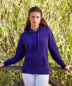 дамски суичър LADY-FIT LIGHTWEIGHT HOODED