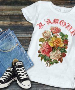 дамска тениска roses amore