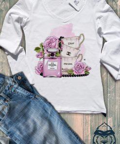 Дамска тениска с дълъг ръкав и остро деколте fashion brands