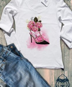 Дамска тениска с дълъг ръкав и остро деколте shoes valentino