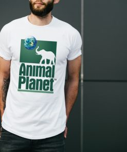мъжка тениска animal planet white