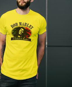 мъжка тениска bob marley yellow