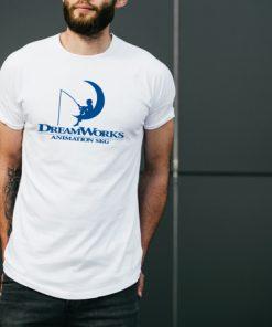 мъжка тениска dream works white