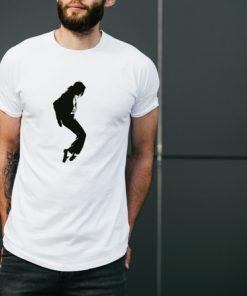 мъжка тениска michael jackson white