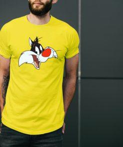 мъжка тениска sylvester yellow