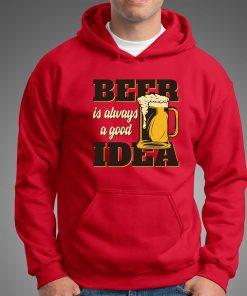 мъжки суитчър beer idea red