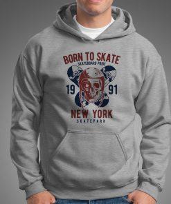 мъжки суитчър born to skate