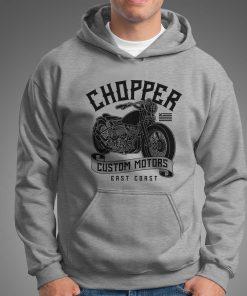 мъжки суитчър chopper grey