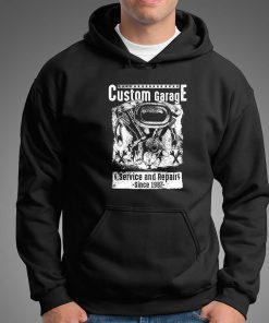 мъжки суитчър custom garage black