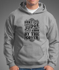 мъжки суитчър dont judge book grey