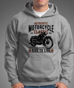 мъжки суитчър ride to live grey