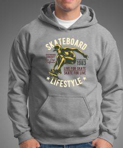 мъжки суитчър skate life style grey