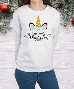 дамска блуза christmas wishes