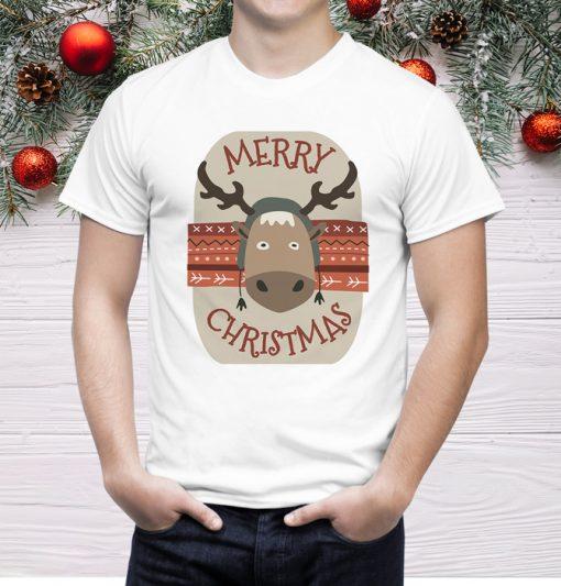 мъжка тениска mery christmas 1