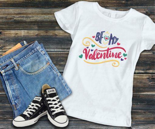 Дамска тениска be my valentine