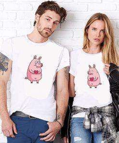Тениски за двойки year of the pig