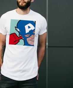 мъжка тениска captain america