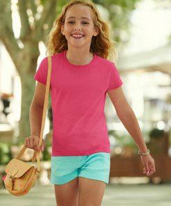 детски вталени тениски за момичета