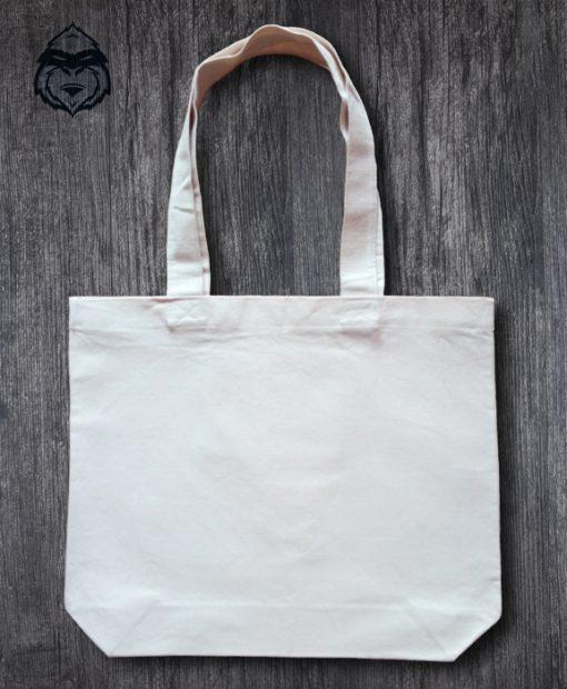 Чанта от памук с джоб