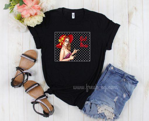 дамска тениска girl boss