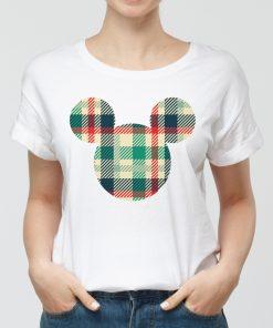Дамска бяла тениска с щампа mickey