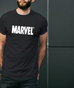 мъжка тениска с надпис marvel
