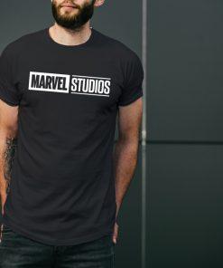 мъжка тениска с надпис marvel black2.1
