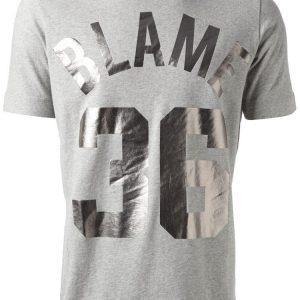 тениски с надписи от флекс фолио със сребърен металик ефект