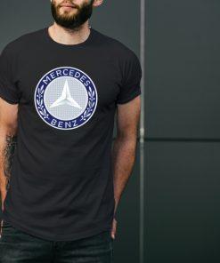 мъжка тениска mercedes 2 black