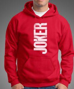 мъжки суичер joker red