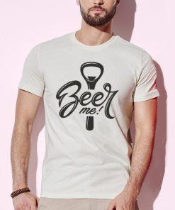 мъжка тениска beer me