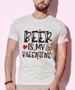 мъжка тениска beer is my valentine