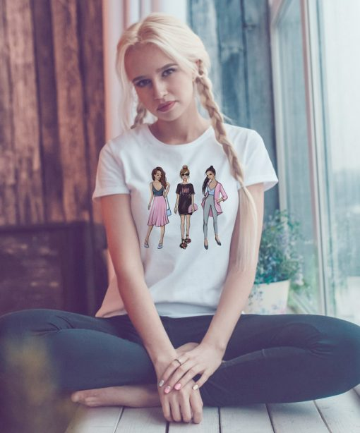 дамска тениска 3girls