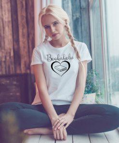 дамска тениска bookaholic