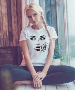 дамска тениска face