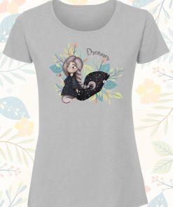 Дамска тениска с щампа Dreams