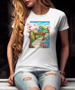 дамска тениска japanese art