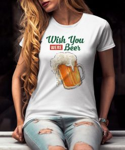 дамска тениска wish beer