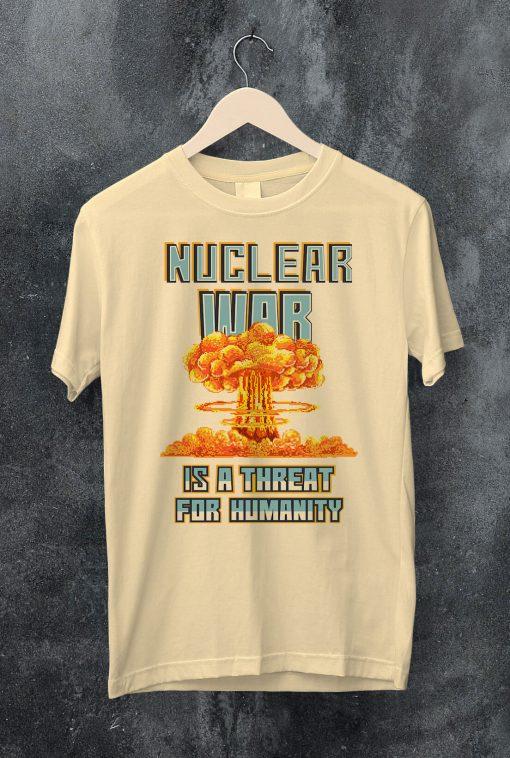мъжка тениска nuclear war natural
