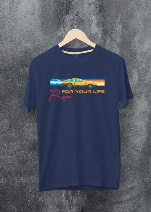 мъжка тениска race for your life