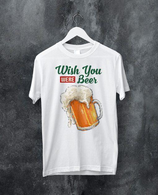 мъжка тениска wish beer